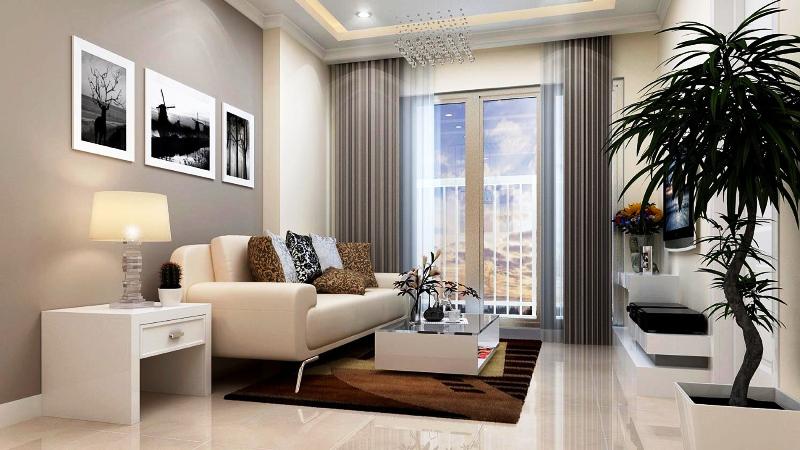 nhà mẫu phòng khách richmond city