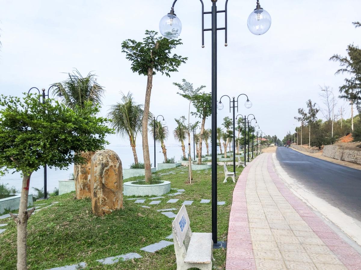 công viên taị dự án sentosa villa