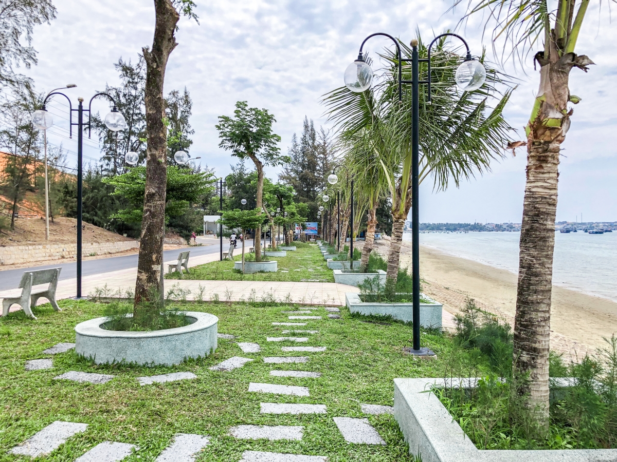 công viên xanh tại dự án sentosa villa